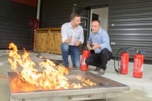 Opplæring i grunnleggende brannvern