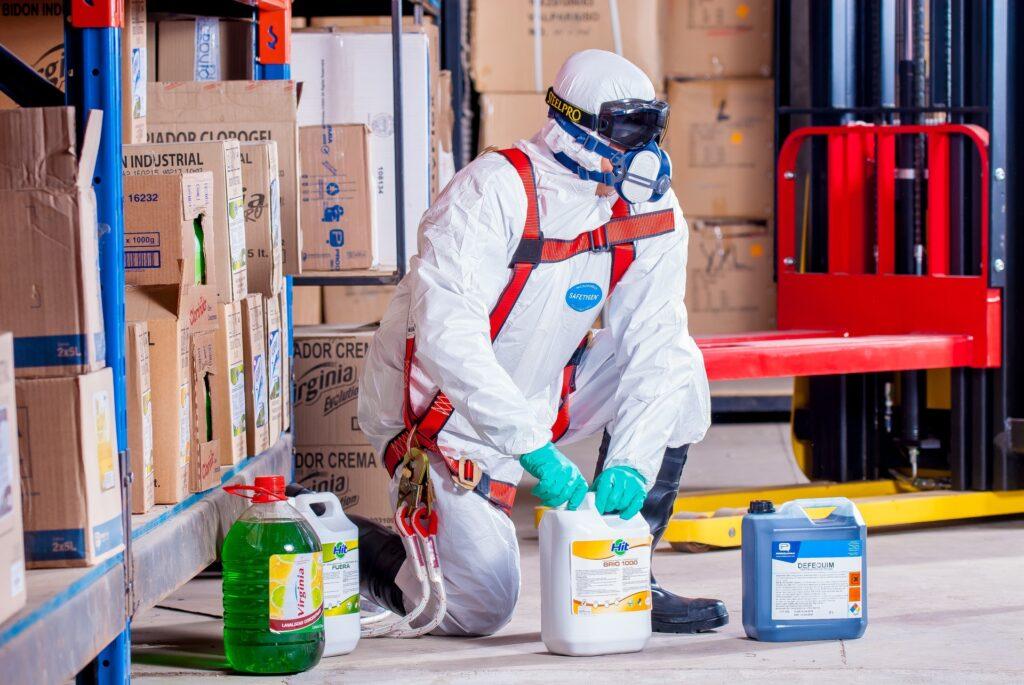 Opplæring i kjemikaliehåndtering