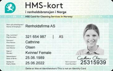 hms-kort-renhold